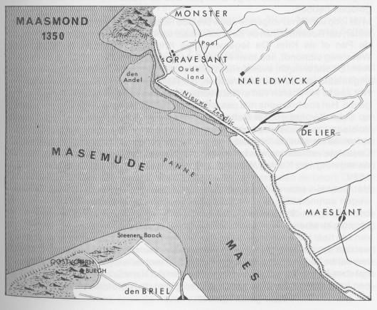 Maasmond_1350_-_source_Van_Niet_tot_Iet